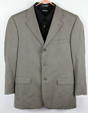 Donald Trump Signature Collection Mens 41R 3 Button Wool Sport Coat Gray EUC