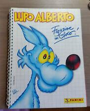 """album figurine Lupo Alberto """"Figurine in gioco""""  - Panini - Completo - 1991"""