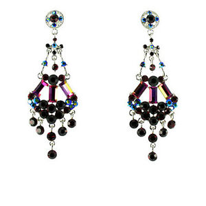Bling Baguette Style Earrings MORE COLOURS AVAILABLE