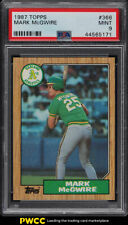 1987 Topps Mark McGwire ROOKIE RC #366 PSA 9 MINT (PWCC)