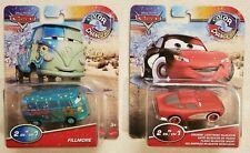 Disney Pixar Cars 2021 Color Changers FILLMORE and CRUISIN LIGHTNING MCQUEEN