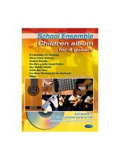 Children Album for 4 Guitars Learn to Play MUSIC BOOK & CD Guitar Quartet