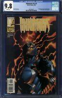 Inhumans #5 CGC 9.8 White Pages 1999 1st New Black Widow Yelena Belova
