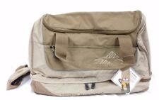 BOOT BAG, HIGH SIERRA MULTIPURPOSE MEDIUM DUFFEL BAG - TAN/BROWN (SOFT BOTTOM)