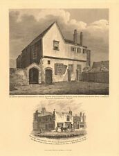 KING JOHN'S PALACE, Tottenham Court & Adam & Eve Tea Rooms. Euston Square 1834