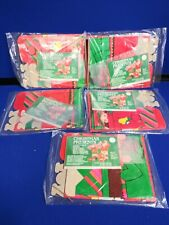 Vintage Westwood Import Company Christmas present gift Box lot of 5