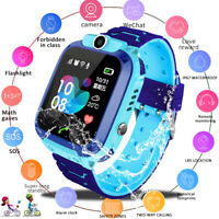 UK Kids Smart Watch Phone Call Alarm Step counter Camera USB For Child Student