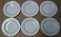 NORITAKE IVORY CHINA HALLS OF IVY  LOT OF 6 BREAD / BUTTER PLATES  6 3/4 INCH