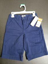 New Boys Chino School Uniform Shorts - Cat & Jack - Navy Blue Size 7