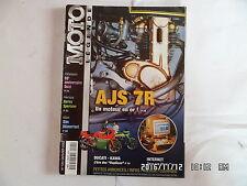 MOTO LEGENDE N°120 01/2002 AJS 7R HARLEY SPORTSTER SIDE BOHMERLAND  E95