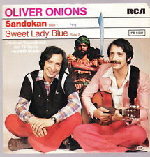 """7"""" Oliver Onions Sandokan/SWEET LADY BLUE 70`s RCA Records"""