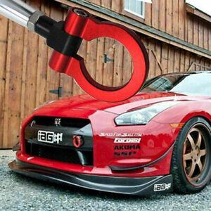 Red Track Racing Style Aluminum Tow Hook For Nissan 370Z GTR Juke Infiniti G37