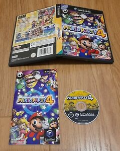Mario Party 4 - Nintendo Gamecube. Complete with manual. PAL  Fast Dispatch !!