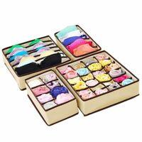 Drawer Closet Organizers Boxes For Underwear Bra Home Storage Clothes Storage