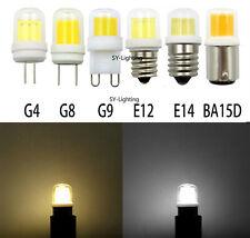 4W G4 G8 G9 E12 E14 BA15D COB1511 LED 110V 220V Light Bulb Replace Halogen Lamp