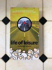 Sheep Shoes Life Of Leisure Rare Vhs Skate Video Sheep Skateboarding Shoes 90's