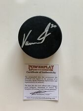 Vitek Vanacek Hershey Bears Washington Capitals Autographed Hockey Puck w/ Coa
