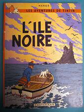TINTIN L'ILE NOIRE CASTERMAN 1981
