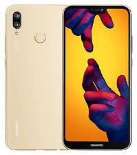 Huawei P20 Lite ANE-LX1 64GB Platinum Gold Dual-SIM Factory Unlocked 4G
