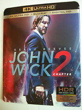 John Wick Chapter 2 w/Slipcover (4K Ultra Hd, Blu Ray, Digital HD, 2017)