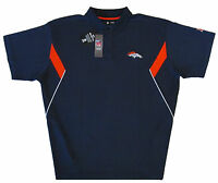 Denver Broncos NFL Men's Team Conference Stadium Golf Polo Shirt Size 4XL