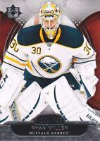 2013-14 Ultimate Collection Hockey #28 Ryan Miller /499 Buffalo Sabres