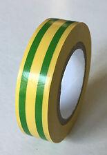 1 rouleau de ruban adhésif pvc isolant électrique 15mmX10m 10 couleurs