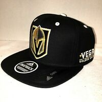 Vegas Golden Knights New Adidas NHL men's Black Snapback HAT Sold Out! VGK