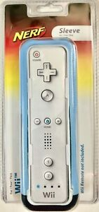 Nerf Protective Sleeve for Nintendo Wii Remote Control Blue - NEW Sealed Package