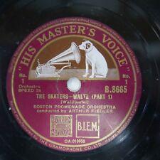 78 rpm BOSTON PROMENADE ORCH the skaters waltz  , waldteufel
