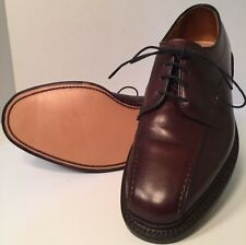 Men Allen Edmonds Hillcrest Brown Size 5 1/2 D Leather Sole New Made In USA 5.5
