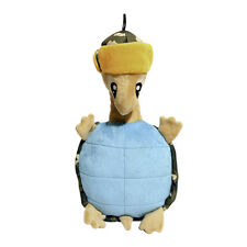 Rosewood Tough Plush Turtle Dog Toy | Squeaker Double Stitched Crinkle Stuffed