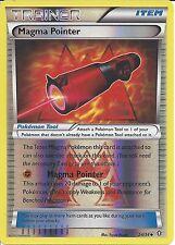 POKEMON TRAINER CARD - XY DOUBLE CRISIS - MAGMA POINTER 24/34 REV HOLO