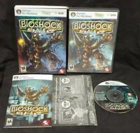 Bioshock  -  PC CD-ROM Complete Mint Discs 1 Owner