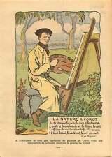 l'Orangerie à Paris Exposition Peinture Camille Corot France 1932 ILLUSTRATION