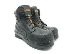"DAKOTA Men's 6"" 6512 Composite Toe Composite Plate Safety Work Boots Black 10M"