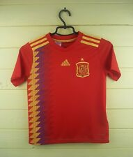 Spain soccer kids jersey 9-10 years 2019 home shirt BR2713 Adidas ig93