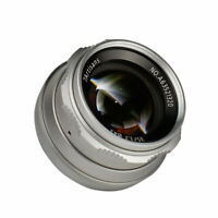 7artisans 35mm F1.2 Lens for Micro Four Thirds M4/3 Panasonic GH5 E-M10 II GX7