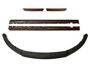 2013-2014 Mustang Roush Front Lower Chin, Side Rocker, Rear Valance Splitter Kit