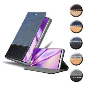 Custodia Cover per Samsung Galaxy NOTE 10 Denim Case Libro Portafoglio