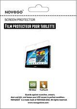 4 Films de protection écran pour tablette Samsung Galaxy Note 10.1 N8000,N8010