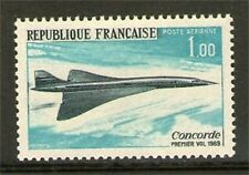 TIMBRE PA N° 43 NEUF * * - 1er VOL DU CONCORDE 1969