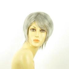 Perruque femme grise cheveux lisses ref  OCEANE 51