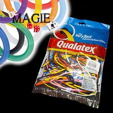 100 Ballons Qualatex TRADITIONNEL - 160 Q - Magie - sac sculpture