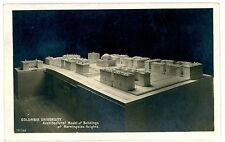 New York City NY-ARCHITECTURAL MODEL OF COLUMBIA UNIVERISTY-RPPC Fowler Postcard