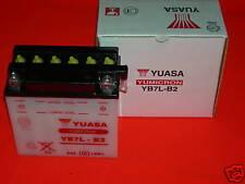 BATTERIA YB7L-B2 YUASA ORIGINALE PER SCOOTER E MOTO
