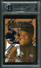 "FRANK THOMAS~1997 TOPPS FINEST ""MASTERS"" #29 GRADED GAI-9 MINT MLB BASEBALL CARD"