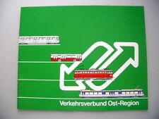 Verkehrsverbund Ost-Region 1988 Wiener U-Bahn Wien