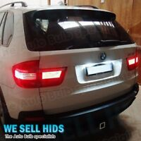 2X BMW X5 E53 1999 - 2007 NUMBER PLATE 6 LED LIGHT XENON WHITE CANBUS ERROR FREE