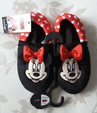 Disney Minnie Mouse Girls slippers size 11 BNWT Christmas Gift idea